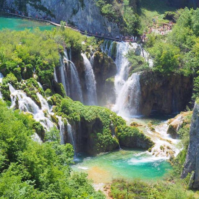 イタリア・クロアチア旅行2019年6月12 6日目 プリトヴィッツェ湖畔国立公園①