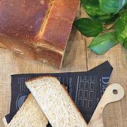 白神酵母でライ麦粉・全粒粉たっぷりの山型食パン~♪♪