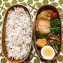 20180611鶏の黒酢照り焼き弁当【ビストロレシピ実践】&意外と忙しい学童イベント