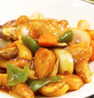 【中華料理】簡単!「鶏むね肉で☆野菜たっぷりの酢鶏」&5分でニラ玉&ピリ辛豆腐サラダで晩ごはん。