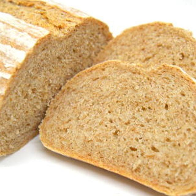 ライ麦を50%配合したライ麦パン(パン・オ・メティユ)
