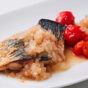 鯖のスパイス焼き
