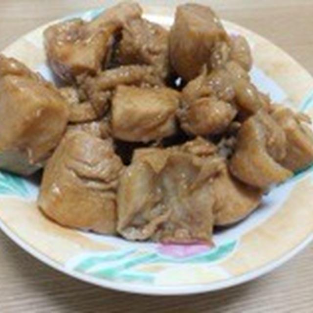 煮込み酢で簡単酢鶏