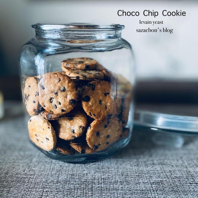 酵母のチョコチップクッキー
