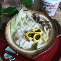 創味シャンタンDXと創味のつゆで、美味しい「シャンタン鍋餃子」