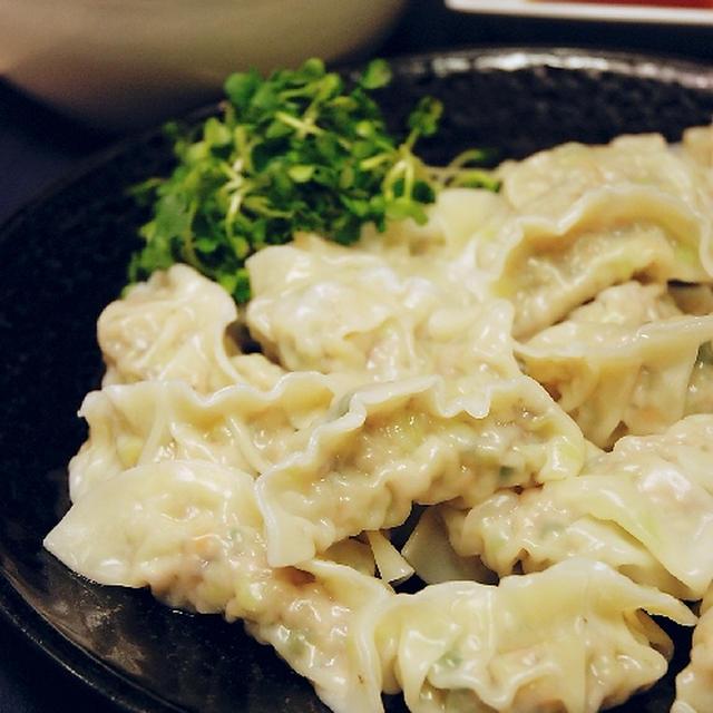 大葉たっぷりの野菜餃子