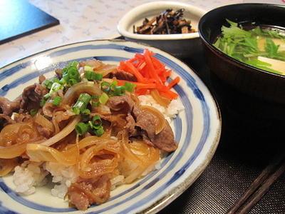 牛丼~☆60歳のマリメッコ。