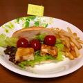 メタボが気になる父上様☆高野豆腐バーガー
