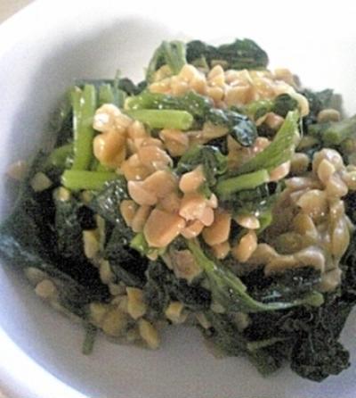 納豆モロヘイヤ