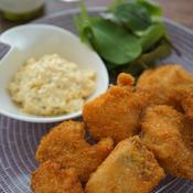 秋鮭のフライ〜ジャパニーズピクルスの本格タルタルソース添え
