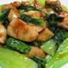 鶏もも肉のパプリカ胡麻ラーユ炒め