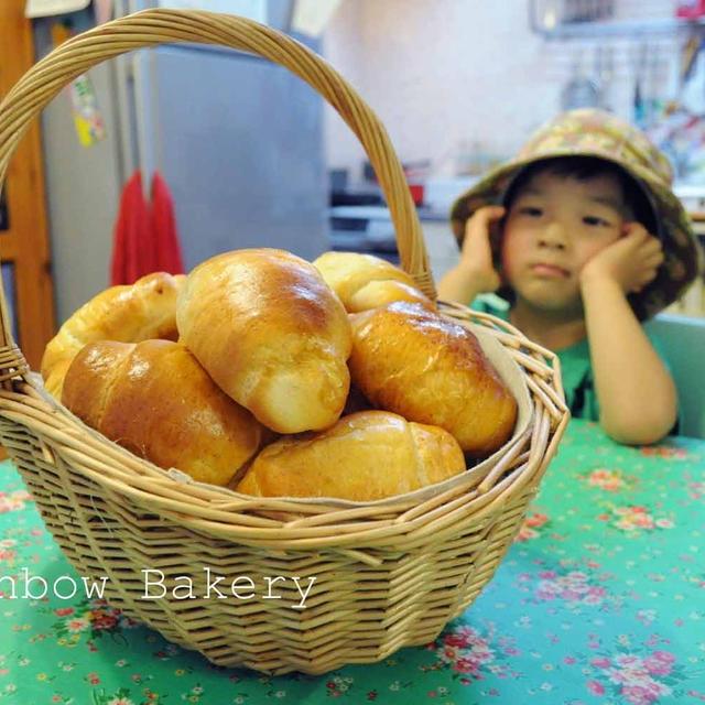 久しぶりのロールパン