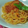 ポモドーロスパゲティ・味が濃いイタリアントマト缶で作る
