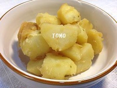 ほど塩レシピ♪ごま油香る!ミツカン追いがつおつゆ2倍 de 粉吹き芋