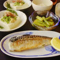 焼き鯖とアスパラガスの芥子和えなど by みなづきさん
