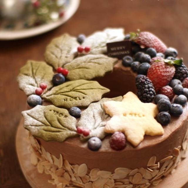 Christmas wreath cake 2012.