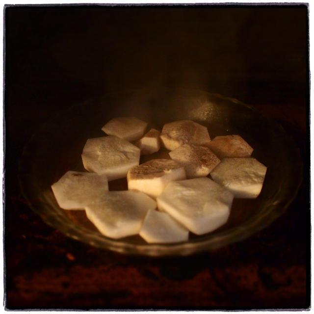 [EAT]豚キムチ丼里芋入り