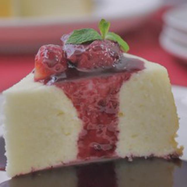 ♡ホワイトチョコケーキ♡(レシピ動画)