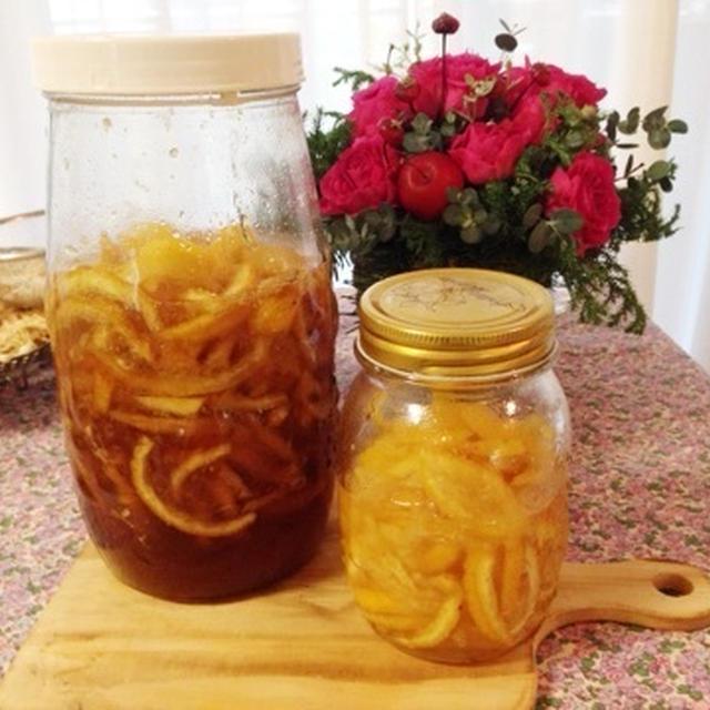 【レシピ】柚子茶