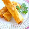 リメイク料理!ラタトゥイユ風チーズ春巻き♪ by みぃさん