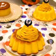 しっとり!ハロウィンかぼちゃモンブランケーキ☆