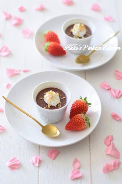 【スパイス大使】ペパーミントマシュマロチョコレートムース♡暑がり屋さんの彼氏に送るバレンタイン♪