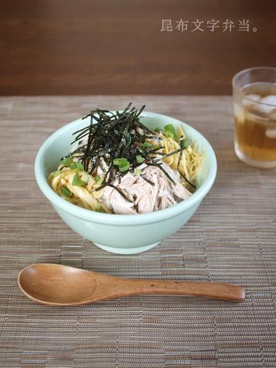 夏休みのお昼ご飯・鶏飯ランチ