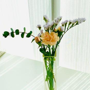 お花が届きました②