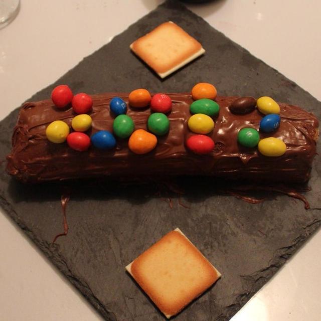Nutellaのロールケーキ