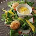 メリクリ!柚子風味ソースでいただくリース風サラダ。 by 清水えりさん