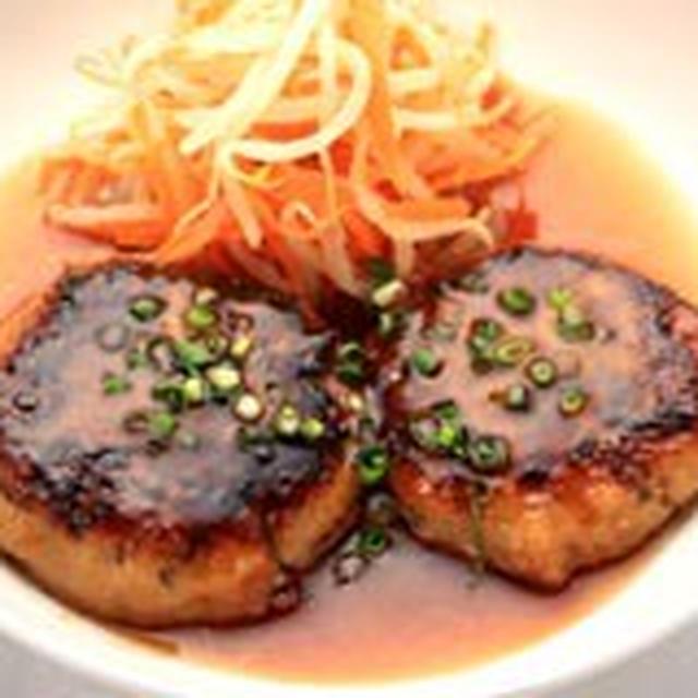 かみなり豆腐のおろしぽん酢