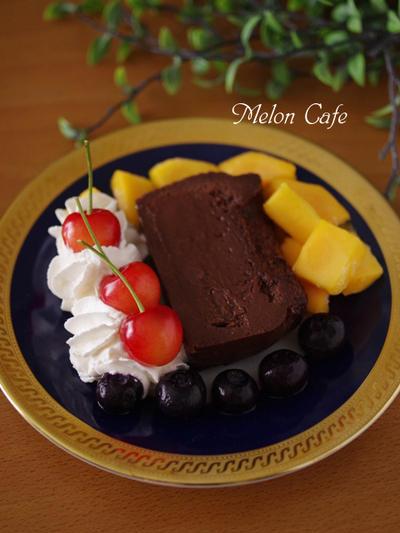 本格濃厚♪簡単にできる半生ガトーショコラ☆チョコレートケーキ、父の日