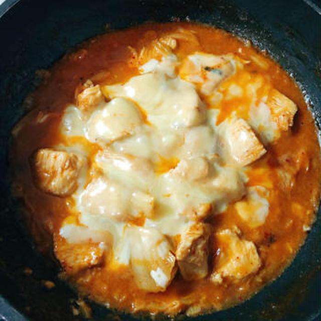 子供も食べれる!むね肉のキムチマヨチーズ  #マヨネーズ #とりキムチ