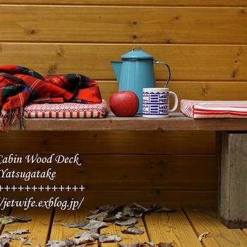 10月の八ヶ岳(1) ~Wood Deckが完成~