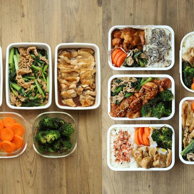 まるごと冷凍一週間の作り置き弁当!5品の超簡単レシピで5食分のお弁当献立(2021年6月12日)