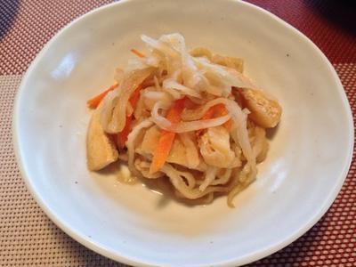 【基本のレシピ】 切り干し大根の煮物