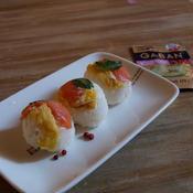 ロシアン手まり寿司!