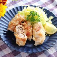 卵の代わりにマヨネーズ&米粉を加えてさっくり食感!しいたけの肉巻き天ぷら☆ボーソー米油部