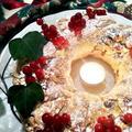 チョコレートとレッドカラントの簡単リングケーキ!サンタ・ルチアを祝って!クリスマスにも