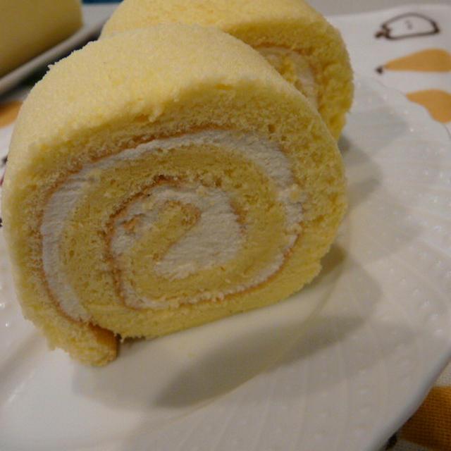 濃厚生クリーム~バニラロールケーキ