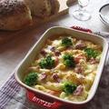 staubで焼いたパン & 燻製鴨とペンネのグラタン♪ by カシュカシュさん