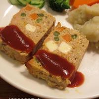 オードブルチーズ〈オニオン〉で作る 豆腐ポークハンバーグ