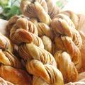 【手作りパン】コーヒーツイスト/ツイスト成形/自家製折り込みシート by saza8225さん