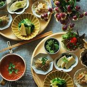 春の陰陽山菜膳。マクロビと静かな領域。
