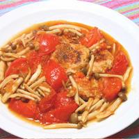さっぱりだけど旨みたっぷり!鶏つくねのサンシャイントマト煮。