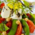 【いわきの親ばかトマト当選!!で 春色サラダを作りました♪】お写真はソフトフォーカス撮りです^^ by あきさん