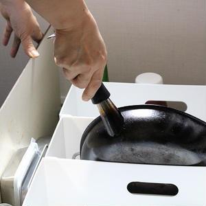 置くだけで、誰でも収納上手に♪ キッチン収納お助けアイテム5選