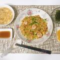 今日は揚州炒飯です 5月7日