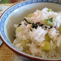 高菜としらすと揚げ玉の混ぜご飯♪