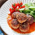 韓国風♡いきなりハンバーグ【#作り置き #お弁当 #ソース不要 #焼肉のたれ #主菜 #韓国風】